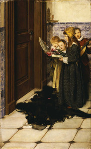 Art prints of A Carol by Laura Theresa Alma-Tadema