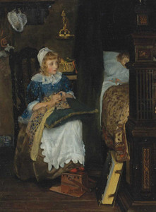 Art prints of In Good Hands by Laura Theresa Alma-Tadema