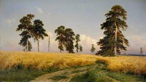 Art prints of Rye by Ivan Shishkin
