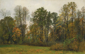 Art prints of Autumn by Ivan Shishkin