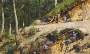 Art prints of Merikyul Landscape by Ivan Shishkin