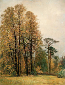 Art prints of Autumn, 1892 by Ivan Shishkin