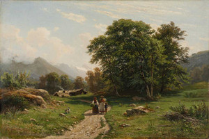 Art prints of Swiss Landscape by Ivan Shishkin