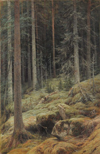 Art prints of Wilds by Ivan Shishkin