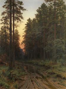 Art prints of Twilight by Ivan Shishkin