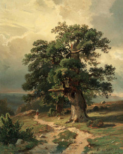 Art prints of Oaks by Ivan Shishkin