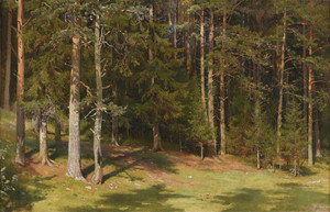 Art prints of The Clearing by Ivan Shishkin