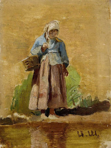 Art prints of Farmer's Wife by Ivan Shishkin