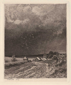 Art prints of Before the Storm by Ivan Shishkin