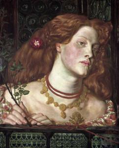 Art prints of Fair Rosamund by Dante Gabriel Rossetti