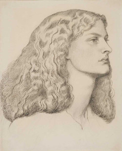 Art prints of Annie Miller by Dante Gabriel Rossetti