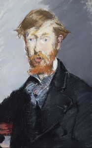 Art prints of George Moore by Edouard Manet