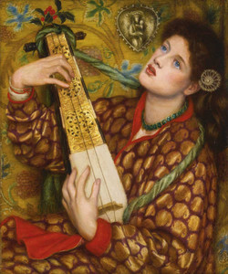 Art prints of A Christmas Carol by Dante Gabriel Rossetti