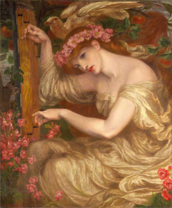 Art prints of A Sea Spell by Dante Gabriel Rossetti