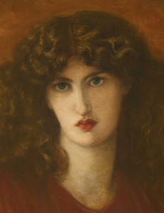 Art prints of Pandora, detail I by Dante Gabriel Rossetti