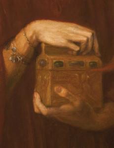 Art prints of Pandora, detail II by Dante Gabriel Rossetti