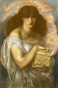 Art prints of Pandora by Dante Gabriel Rossetti