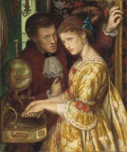 Art prints of Washing Hands by Dante Gabriel Rossetti