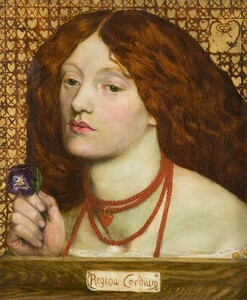 Art prints of Regina Cordium, 1860 by Dante Gabriel Rossetti