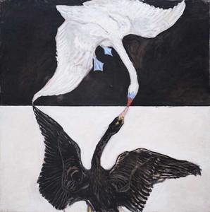Art prints of Group IX SUW, The Swan No. 1 by Hilma af Klint