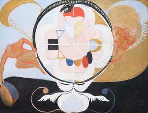 Art prints of Group VI, Evolution No. 13 by Hilma af Klint