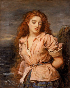Art prints of The Martyr of Solway by John Everett Millais