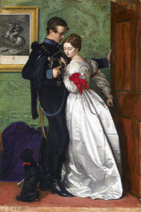 Art prints of The Black Brunswicker by John Everett Millais