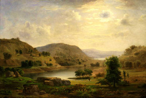 Art prints of Valley Pasture by Robert S. Duncanson