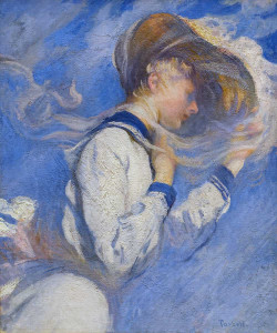 Art prints of Summer Breeze by Edmund Charles Tarbell