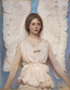 Art prints of Angel by Abbott H. Thayer