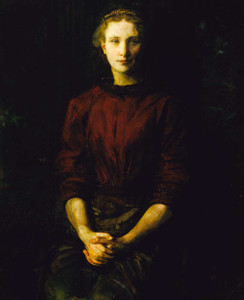 Art prints of Portrait of a Lady (Mrs. William B. Cabot) by Abbott H. Thayer