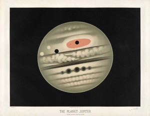 Art prints of The Planet Jupiter by Étienne Léopold Trouvelot