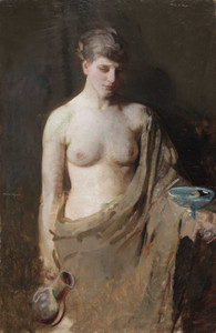 Art prints of Hebe by Abbott H. Thayer