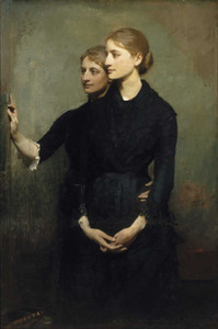 Art prints of The Sisters by Abbott H. Thayer