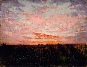 Art prints of Sunrise or Sunset by Abbott H. Thayer