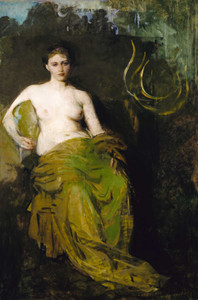 Giclee prints of Half Draped Figure by Abbott H. Thayer