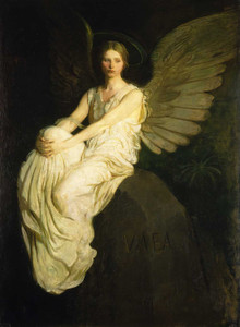 Giclee prints of Stevenson Memorial by Abbott H. Thayer