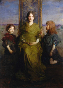 Giclee prints of Virgin Enthroned by Abbott H. Thayer