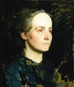 Giclee prints of Portrait of a Woman (Miss Gertrude Bloede) by Abbott H. Thayer