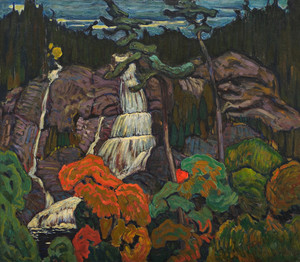 Giclee prints of Algoma Waterfall, 1920 by J. E. H. MacDonald