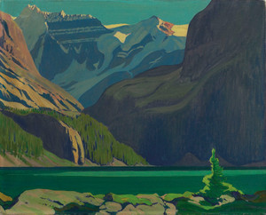 Giclee prints of Lake O'Hara by J. E. H. MacDonald