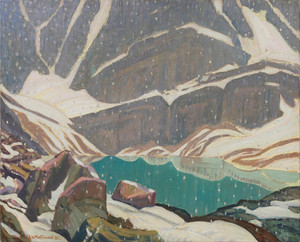 Giclee prints of Mountain Solitude, Lake Oesa by J. E. H. MacDonald