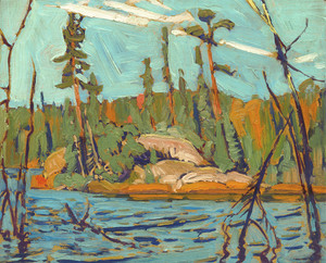 Giclee prints of Moose Lake, Algoma, 1920 by J. E. H. MacDonald