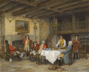 Giclee prints of At the Sportsmans Arms by Frank Moss Bennett