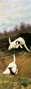 Giclee prints of Totteridge Smooth Fox Terriers II by Maud Earl