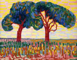 Giclee prints of Two Trees by Jacoba van Heemskerck van Beest