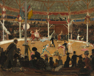 Giclee prints of The Circus by Suzanne Valadon