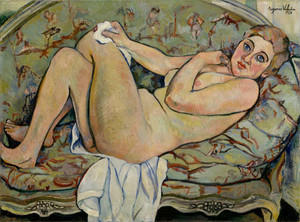 Giclee prints of Reclining Nude by Suzanne Valadon