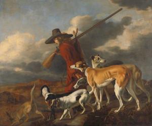 Giclee prints of The Hunter by Adriaen Cornelisz Beeldemaker