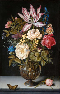 Art prints of Still Life with Flowers by Ambrosius Bosschaert the Elder